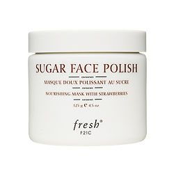Fresh Sugar Face Polish with Strawberries