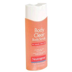 Neutrogena Body Clear Body Scrub (Uploaded by edencookies)
