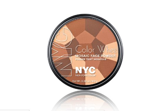 Nyc New York Color Color Wheel Mosaic Face Powder In Bronze Glow