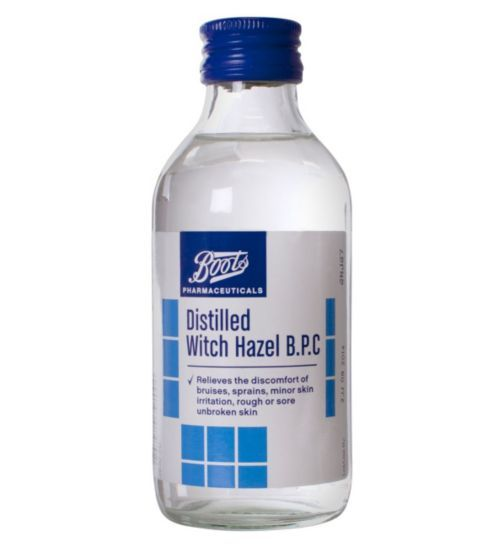 Boots Distilled Witch Hazel Reviews Photo Ingredients