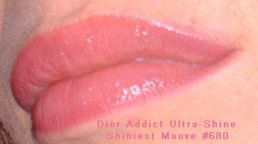 Dior Ultra-Shine Sheer Lipcolor 680- Shiniest Mauve