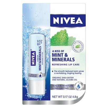 Nivea Mint and Minerals Refreshing Lip Care