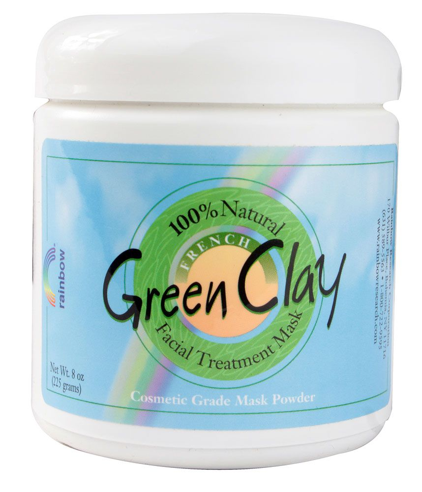 French Green Clay Facial Mask Powder - 8 oz. by Rainbow Research (pack of 12) Jack Black - Line Smoother Face Moisturizer (4% Glycolic Acid) -97ml/3.3oz