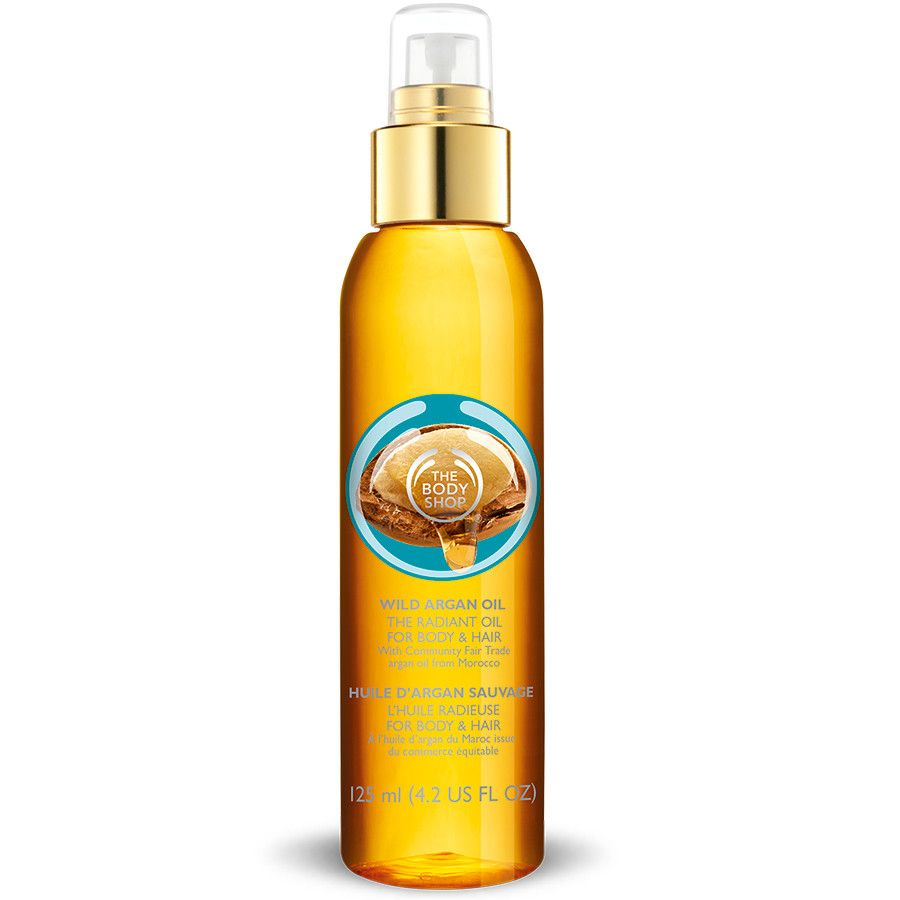 Argan oil body oil
