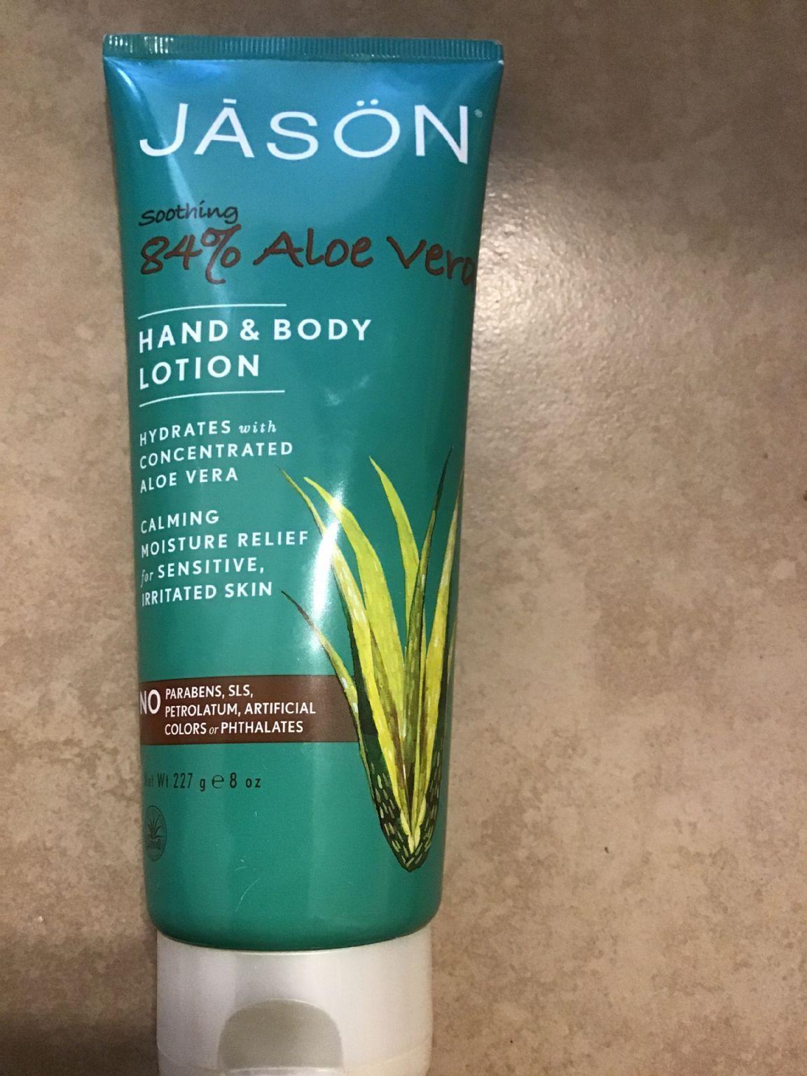 jason 84% aloe Vera hand and body lotion (Uploaded by Shykitty1)