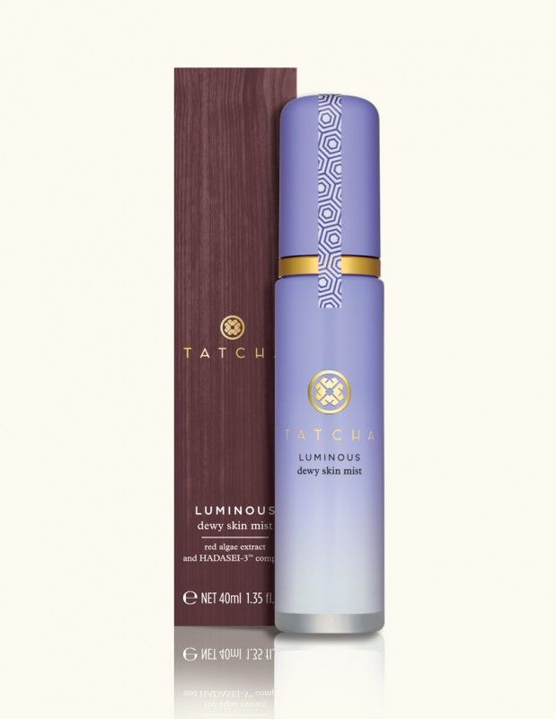 Tatcha Luminous Dewy Skin Mist by Tatcha Vegan Lip Stix Mystic (Light Pinkish-Brown Tone) - 0.2 oz (5 Grams) by Earthlab