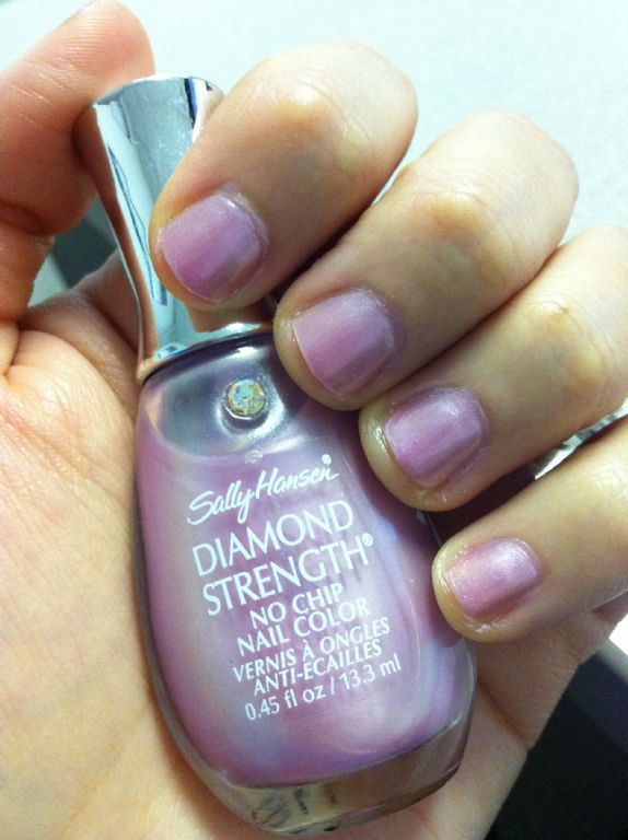 Sally Hansen Diamond Strength No Chip Nail Color - Lavender Marquis ...