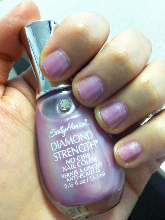 Sally Hansen Diamond Strength No Chip Nail Color Lavender Marquis Reviews Photos Makeupalley