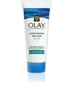 Sensitive skin foaming facial cleanser