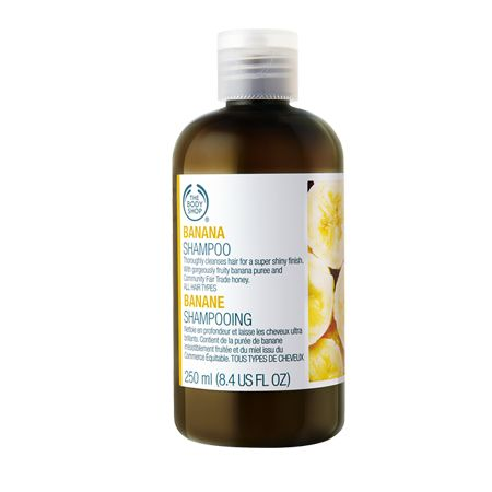 The Body Shop Banana Shampoo