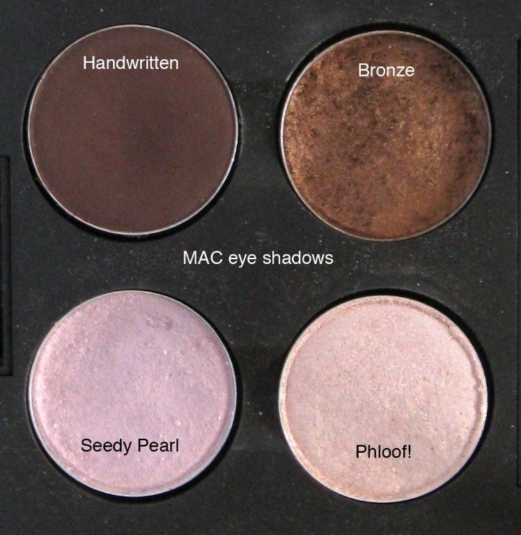 MAC - Handwritten, Bronze, Phloof, Seedy Pearl (Uploaded by SG444)