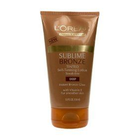 L'Oreal Sublime Bronze Tinted Lotion in Deep
