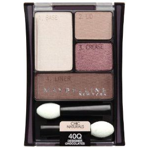 Maybelline Expert Wear Eyeshadow Quad - Designer Chocolates