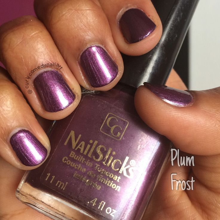 COVERGIRL NailSlicks in Plum Frost reviews, photos - Makeupalley