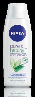 Nivea pure&natural cleansing milk