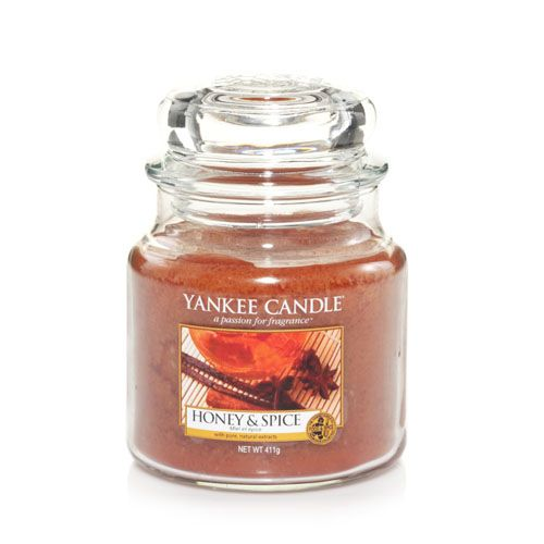 Yankee Candles Honey & Spice