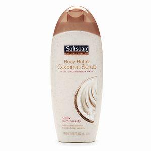 Softsoap Moisturizing Body Wash Coconut Scrub