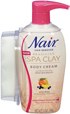 Nair Brazilian Spa Clay Body Cream Reviews Photos Ingredients