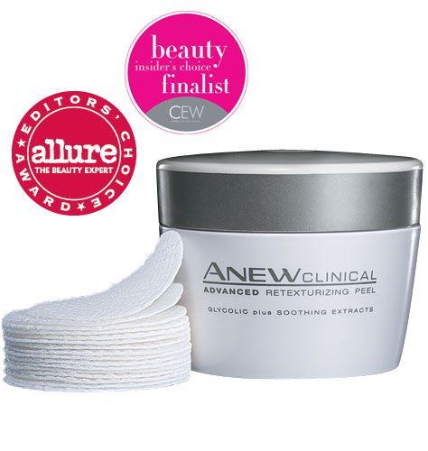 Avon anew clinical 2 step facial peel