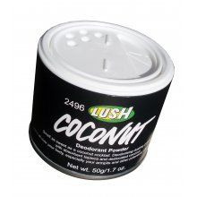 LUSH Coconut Deodorant Powder