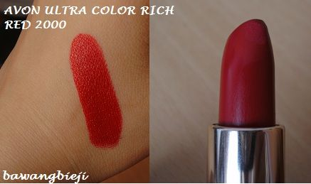 Avon Ultra Color Rich Renewable Lipstick Satins Reviews