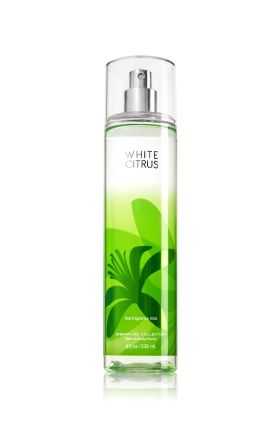 Bath and Body Works white citrus