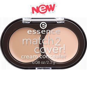 Essence match2cover! cream concealer