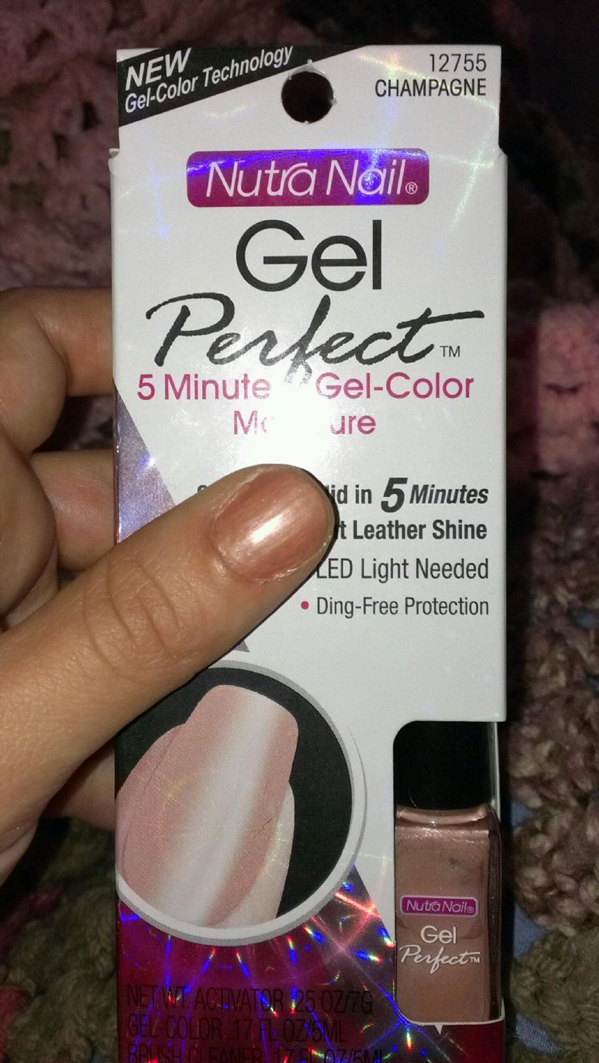 Nutra Nail Gel Perfect UV Free Gel Color reviews, photos - Makeupalley