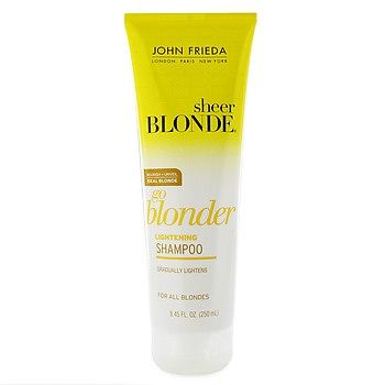 john frieda go blonder lightening shampoo reviews photo ingredients makeupalley. Black Bedroom Furniture Sets. Home Design Ideas
