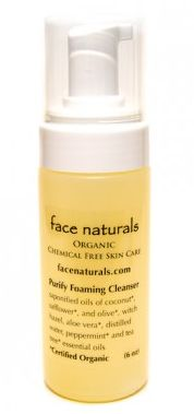 Face Naturals - Organic Purifying Foaming Facial Cleanser