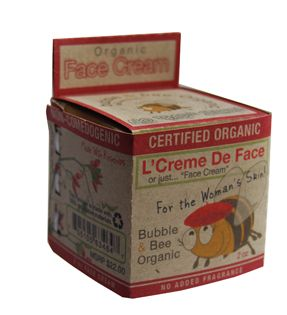 Bubble and Bee- Organic Anti-Aging Face Cream