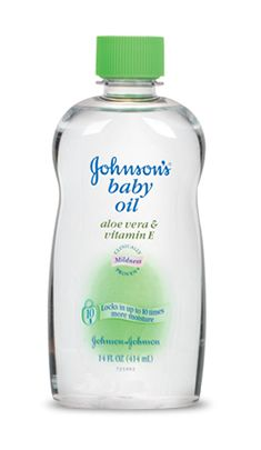 Johnson & Johnson Baby Oil with Aloe Vera & Vitamin E