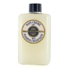 L'Occitane Foaming Cream Bath with 4% Shea Milk
