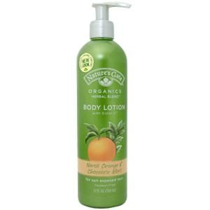 Nature's Gate Neroli Orange & Chocolate Mint Body Lotion with Ester-C