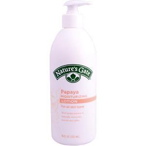 Nature's Gate Herbal Moisturizing Lotion with Papaya