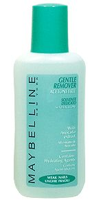 Maybelline Gentle Nail Polish Remover - Acetone Free