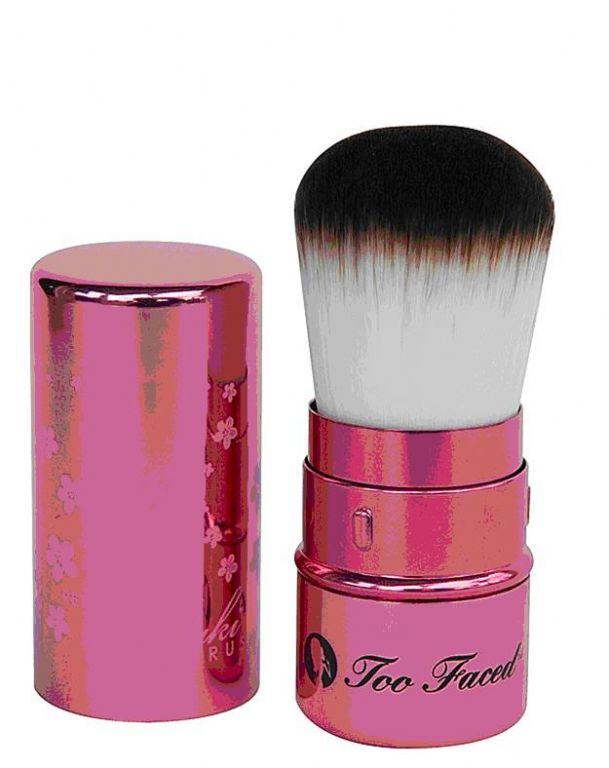 too faced kabuki brush. too face kabuki retractable brush faced f