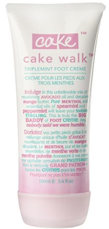 Cake Beauty Cake Walk Foot Cream