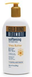 Gold Bond Ultimate Softening Skin Therapy Lotion Shea Butter