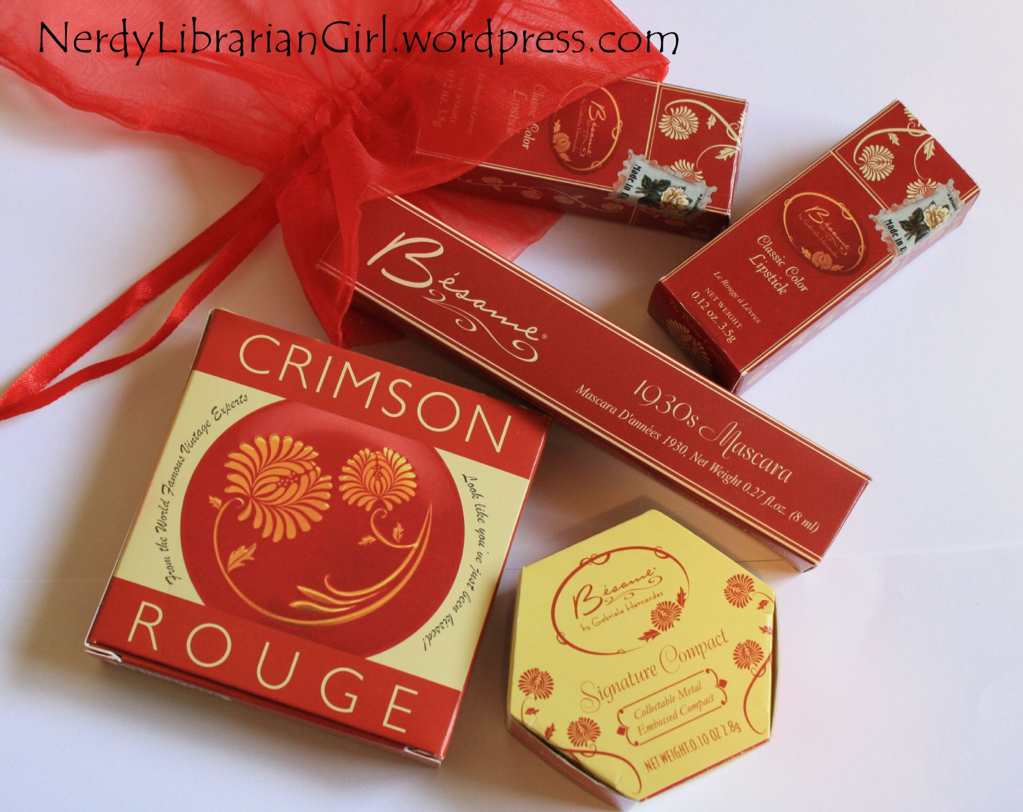 fun size beauty: Besame Crimson Cream Rouge for Lips and