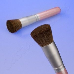 Coastal Scents Pink Flat Top Bronzer Buffer Brush