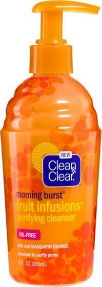 Clean & Clear Morning Burst Fruit Infusions - Purifying Cleanser