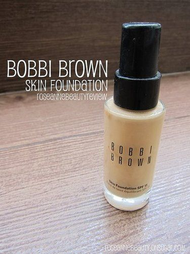 Bobbi Brown Skin Foundation Spf 15 Reviews Photos Ingredients