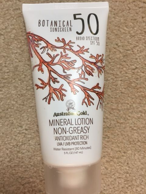 Botanical Tinted Face Sunscreen by australian gold #13