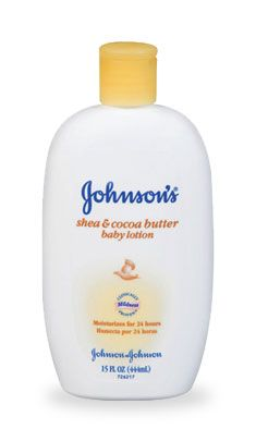 Johnson & Johnson shea and cocoabutter baby lotion
