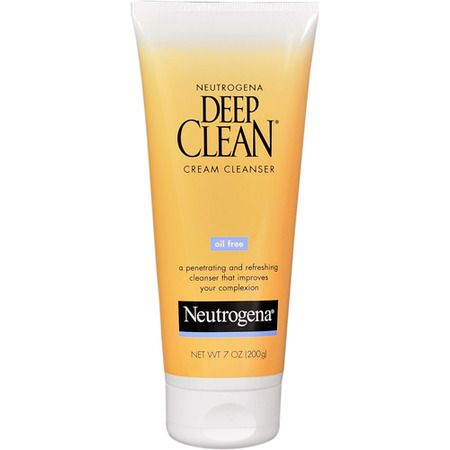 Neutrogena Deep Clean Oil-Free Cream Cleanser