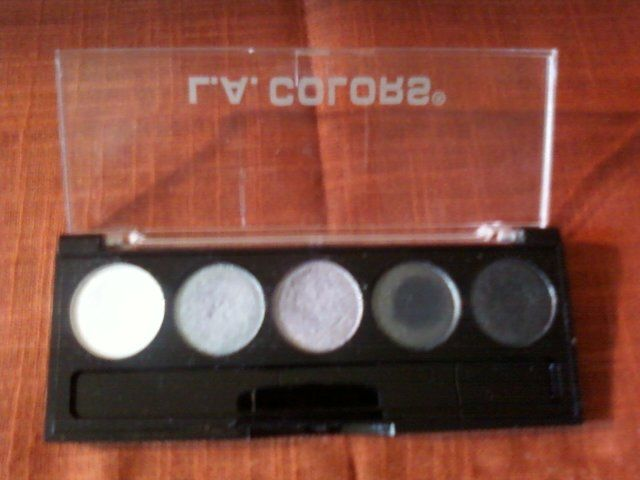 L.A. Colors 5 Color Metallic Eyeshadow in Ammunition