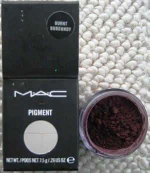 MAC Cosmetics Pigment - Burnt Burgundy
