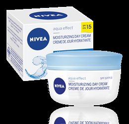 Nivea Aqua Effect Moisturizing Day Cream SPF 15 for Normal Skin
