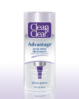 Clean Clear Advantage Acne Spot Treatment Reviews Photos Ingredients Makeupalley